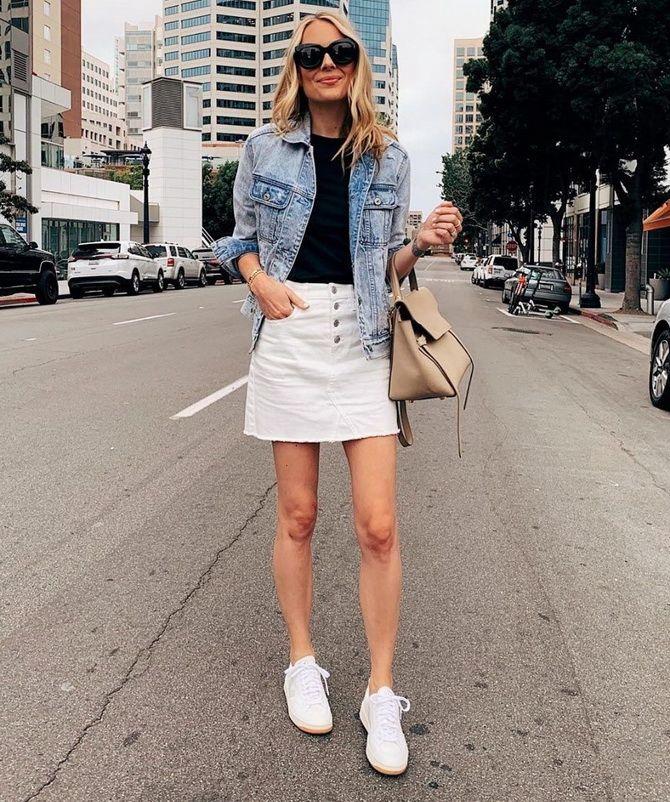 Белая юбка на лето 2021 — какие образы с ней можно создать 19