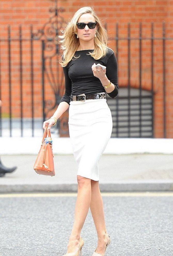Белая юбка на лето 2021 — какие образы с ней можно создать 7