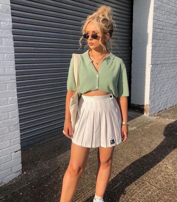 Белая юбка на лето 2021 — какие образы с ней можно создать 9