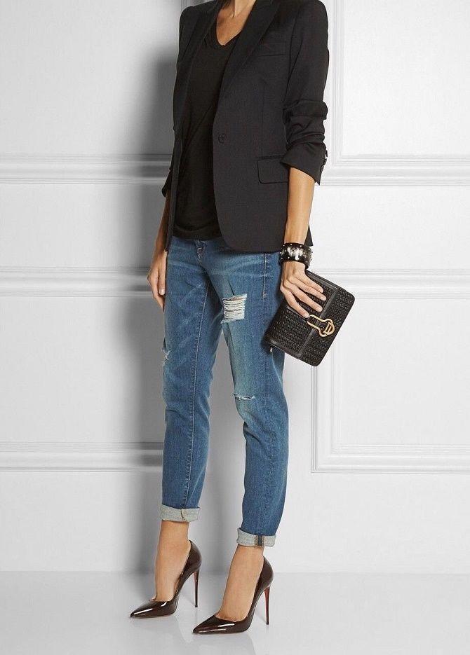Як носити чорний піджак, щоб виглядати модно: ненудні ідеї 1
