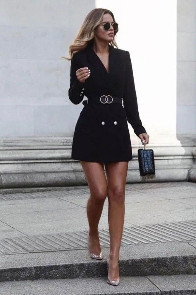Як носити чорний піджак, щоб виглядати модно: ненудні ідеї 11