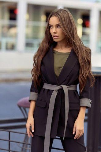 Як носити чорний піджак, щоб виглядати модно: ненудні ідеї 8