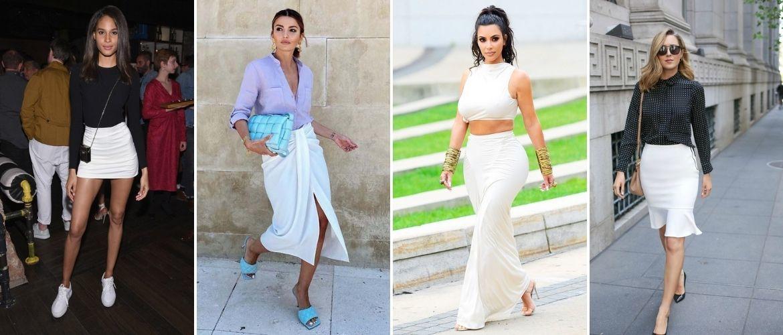 Белая юбка на лето 2021 — какие образы с ней можно создать