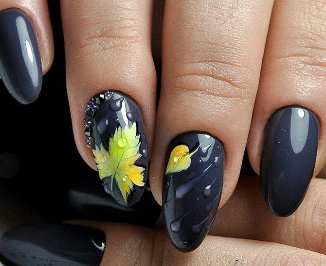 Манікюр з краплями на нігтях: стильні ідеї для модниць 11