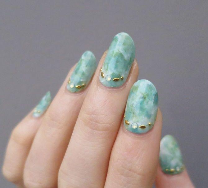 Манікюр з краплями на нігтях: стильні ідеї для модниць 12