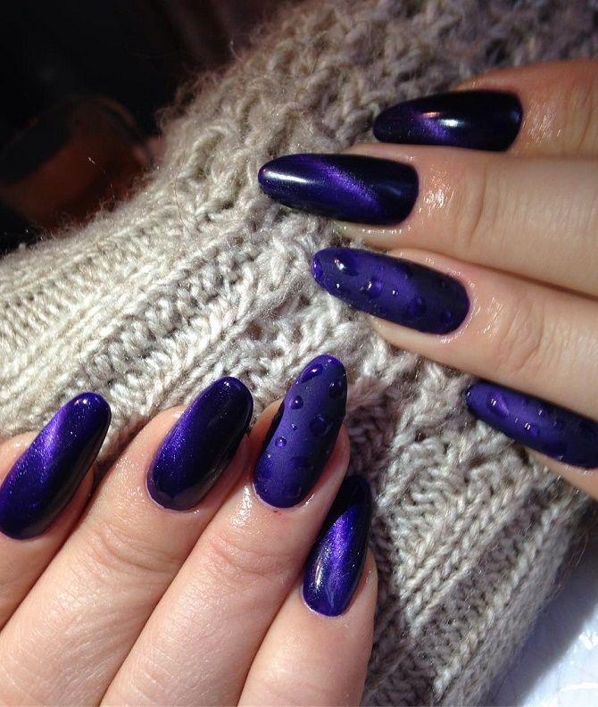 Манікюр з краплями на нігтях: стильні ідеї для модниць 13