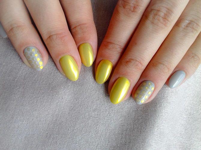 Манікюр з краплями на нігтях: стильні ідеї для модниць 16