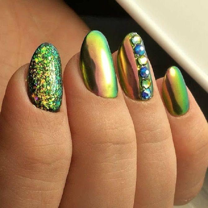 Манікюр з краплями на нігтях: стильні ідеї для модниць 17