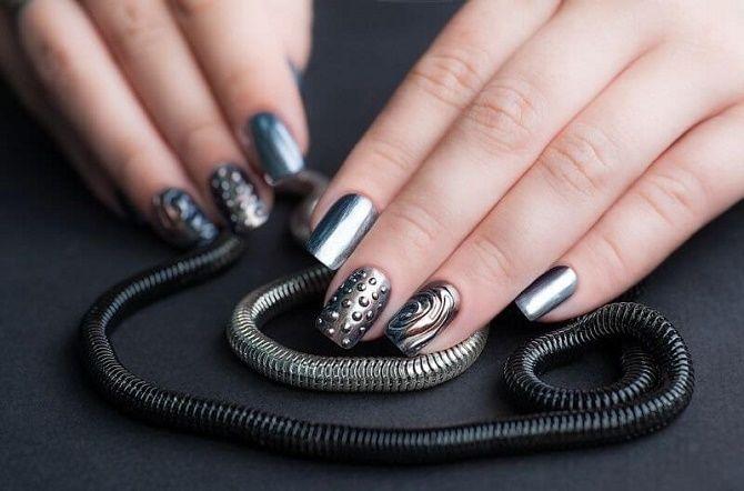 Манікюр з краплями на нігтях: стильні ідеї для модниць 18