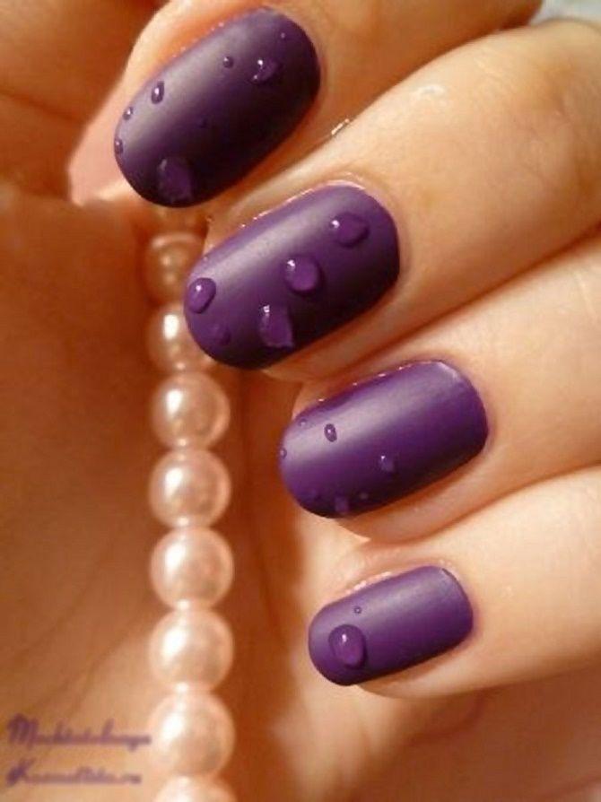 Манікюр з краплями на нігтях: стильні ідеї для модниць 21