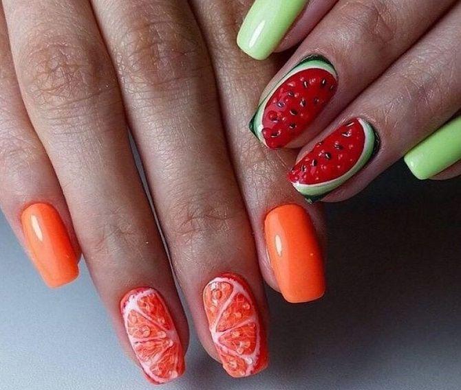 Манікюр з краплями на нігтях: стильні ідеї для модниць 22