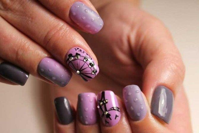 Манікюр з краплями на нігтях: стильні ідеї для модниць 23