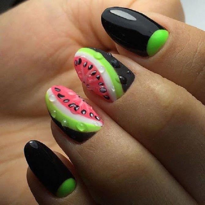 Манікюр з краплями на нігтях: стильні ідеї для модниць 25