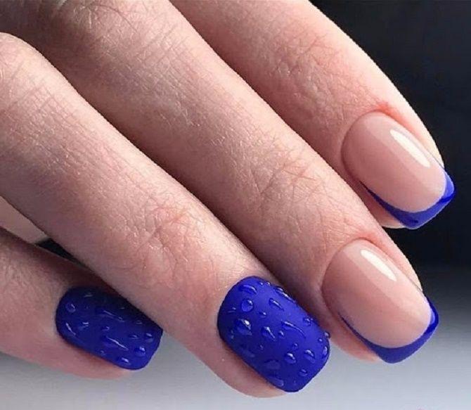 Манікюр з краплями на нігтях: стильні ідеї для модниць 26