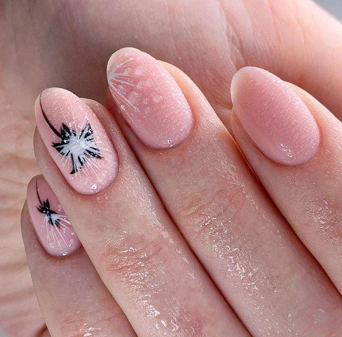 Манікюр з краплями на нігтях: стильні ідеї для модниць 4