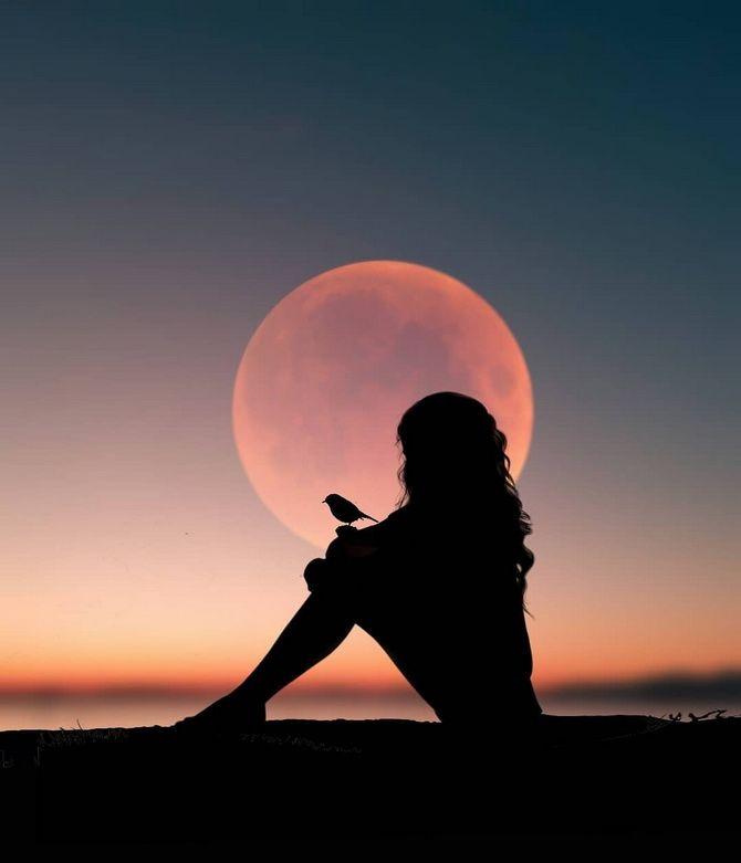 Полнолуние в июле 2021: когда взойдет Оленья луна 1