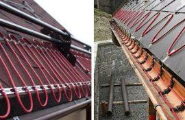 Электрический обогрев крыш — что надо знать перед монтажом системы