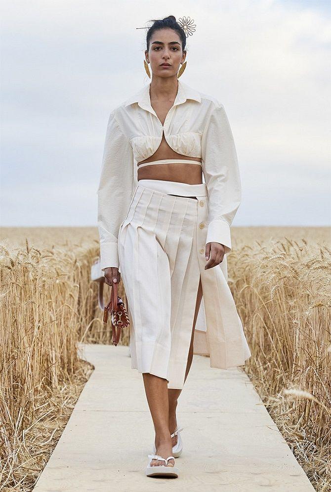 Топы на завязках: как носить и с чем сочетать модный тренд 6