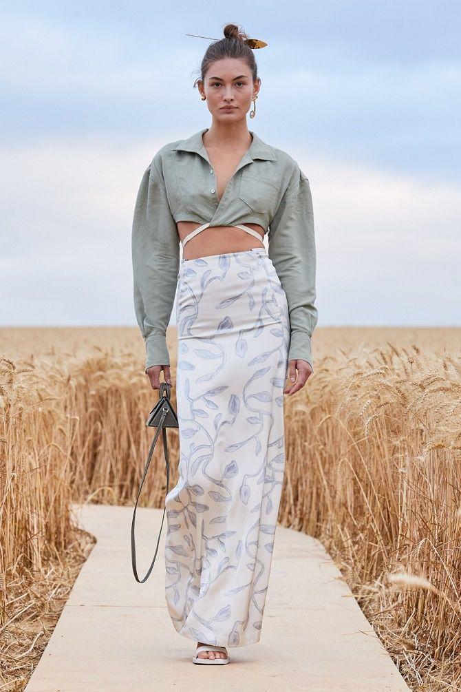 Топы на завязках: как носить и с чем сочетать модный тренд 7