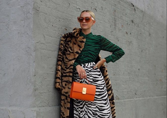 Зебра – как носить любимый принт многих модниц? 1