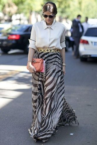 Зебра – как носить любимый принт многих модниц? 2