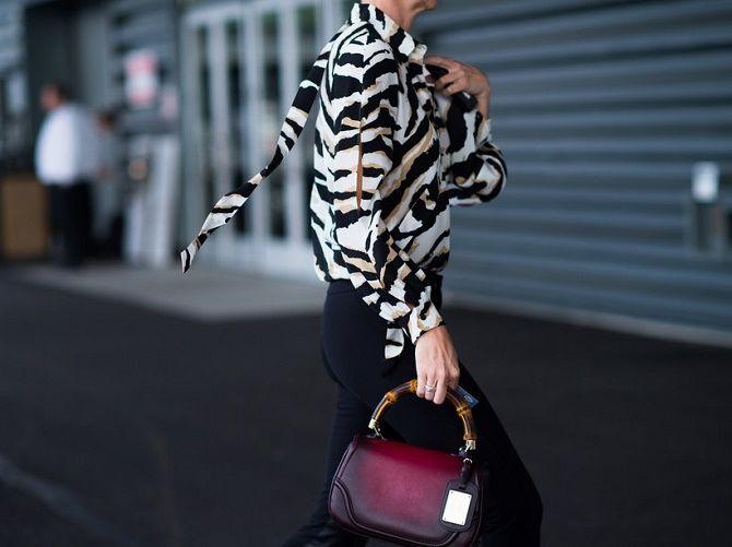Зебра – как носить любимый принт многих модниц? 7