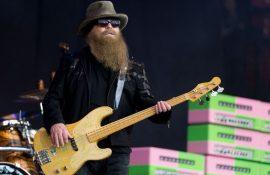 Басист групи ZZ Top Дасті Гілл помер на 72-му році життя