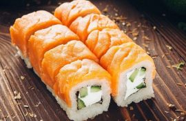 Обзор популярных сетей суши ресторанов Мегиона