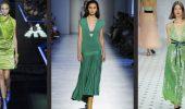 Як носити зелені сукні: модні і незвичайні образи