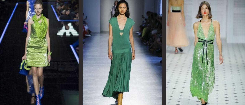 Как носить зеленые платья: модные и необычные образы