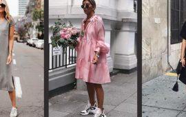 Моделі суконь, які можна носити з кросівками