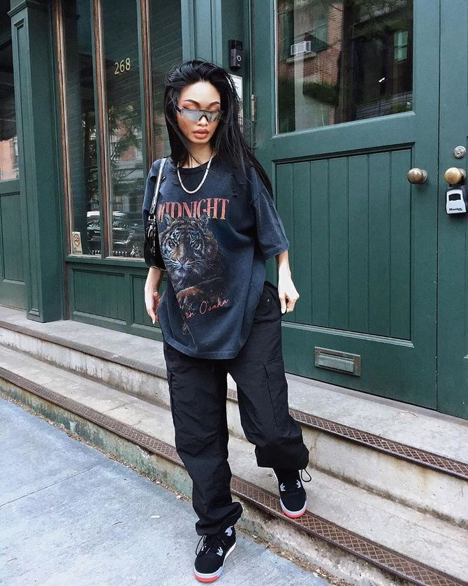 Как носить топы и футболки для создания образов в стиле streetwear 12