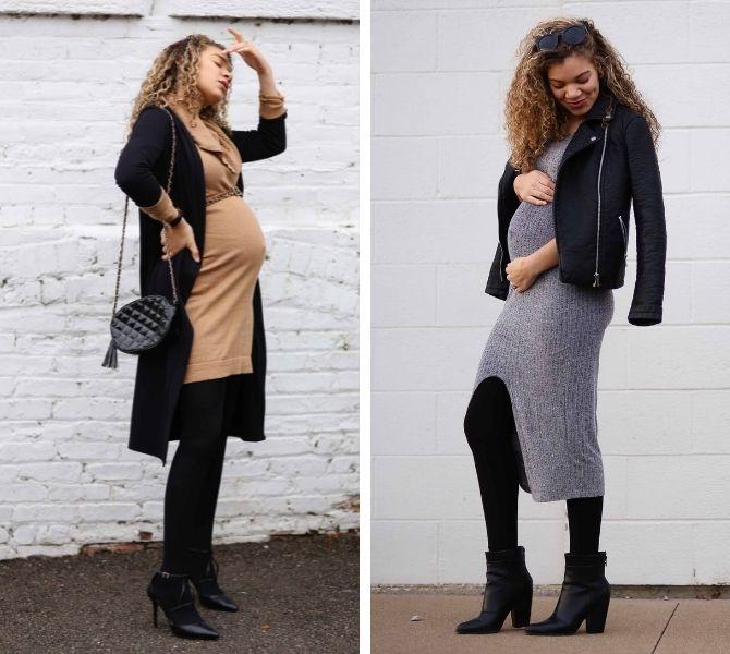 Осіння вагітність – як зручно одягнутися майбутнім матусям 1
