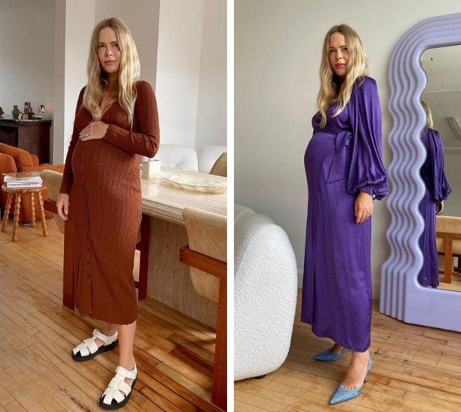 Осіння вагітність – як зручно одягнутися майбутнім матусям 2