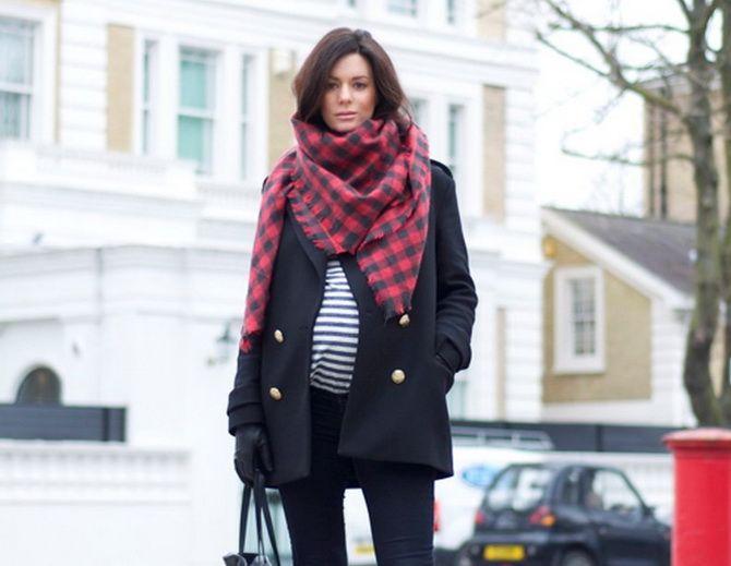 Осіння вагітність – як зручно одягнутися майбутнім матусям 13