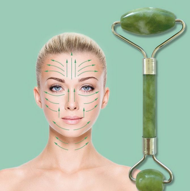 Нефритовий масажер для обличчя – в чому користь цього інструменту краси 5