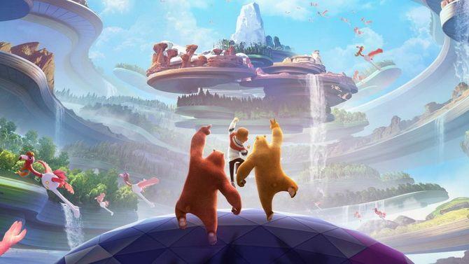 """Мультфільм """"Таємниця парку розваг"""" – невгамовні брати-ведмеді знову в справі 1"""