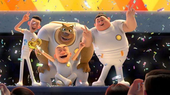 """Мультфільм """"Таємниця парку розваг"""" – невгамовні брати-ведмеді знову в справі 3"""