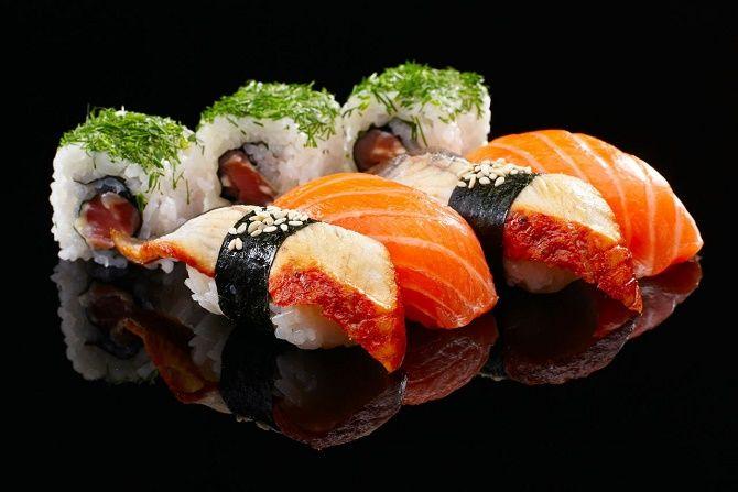 Обзор популярных сетей суши ресторанов Мегиона 1