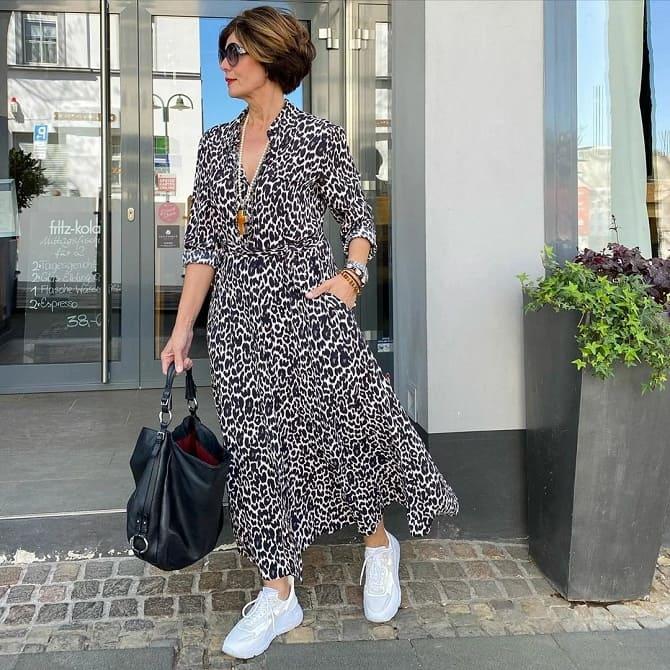 Модели платьев, которые можно носить с кроссовками 5