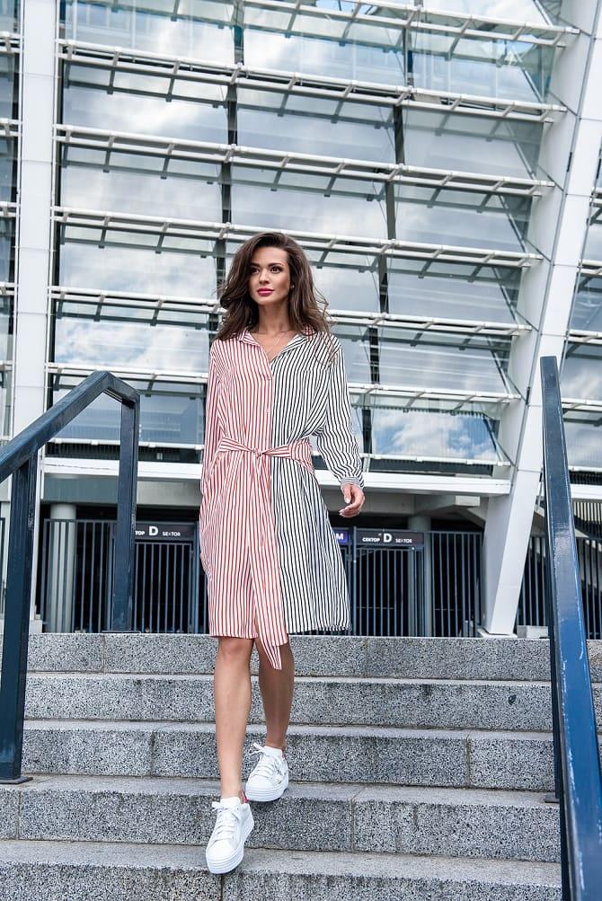 Модели платьев, которые можно носить с кроссовками 6
