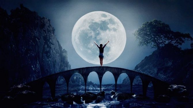Полнолуние в августе 2021 — Луна в Водолее два раза подряд 1