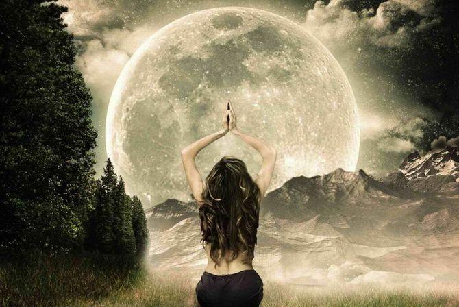 Полнолуние в августе 2021 — Луна в Водолее два раза подряд 4