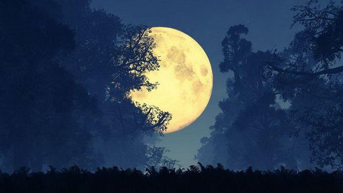 Полнолуние в августе 2021 — Луна в Водолее два раза подряд 5