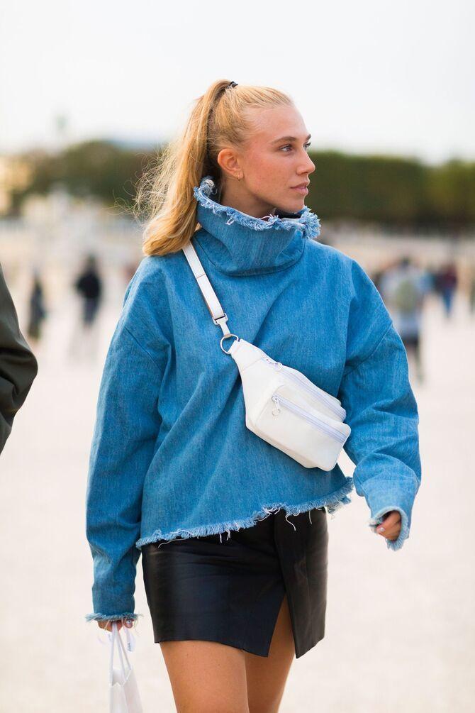 Аксессуар 90-х: 30 свежих способов, как и с чем носить поясную сумку 18