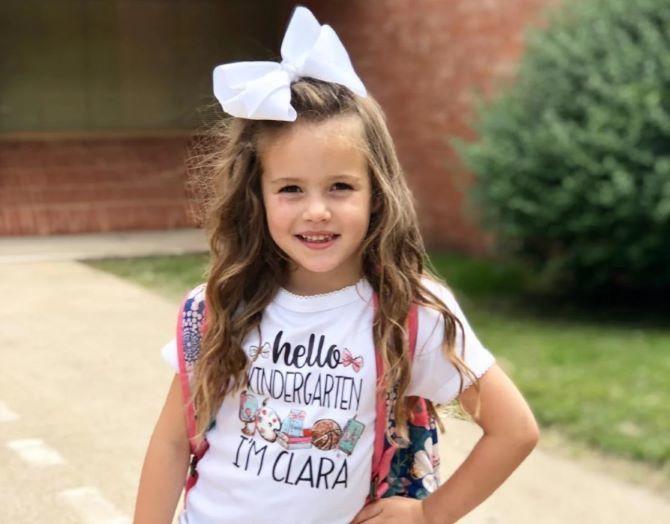 Зачіска з 1 бантом для дівчинки: стильні ідеї на 1 вересня 11