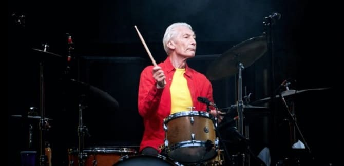 Умер барабанщик The Rolling Stones Чарли Уоттс 1