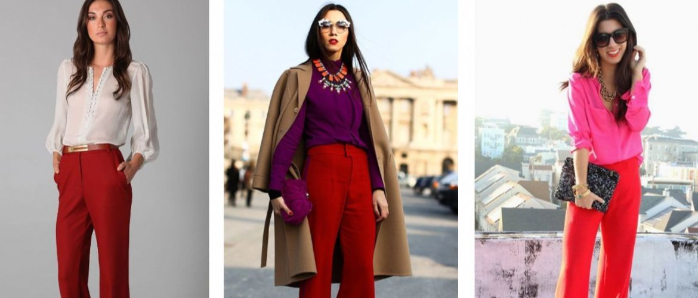З чим носити яскраві штани ранньої осені 2021: модні поєднання