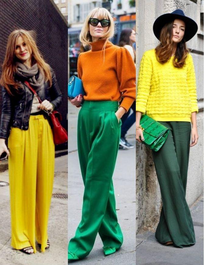 З чим носити яскраві штани ранньої осені 2021: модні поєднання 10