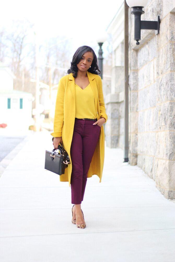 З чим носити яскраві штани ранньої осені 2021: модні поєднання 15